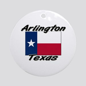 Arlington Texas Ornament (Round)