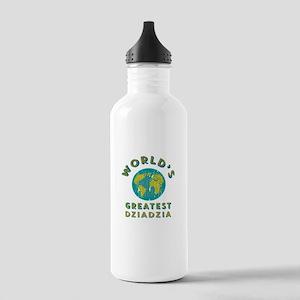World's Greatest Dziad Stainless Water Bottle 1.0L