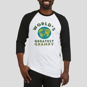 World's Greatest Grampy Baseball Jersey