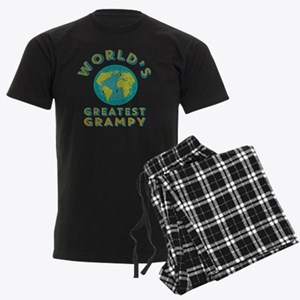World's Greatest Grampy Men's Dark Pajamas