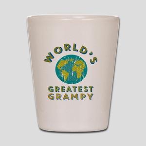 World's Greatest Grampy Shot Glass