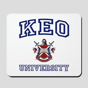 KEO University Mousepad
