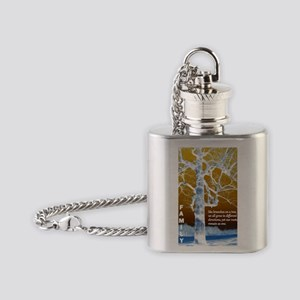 Family Tree Flask Necklace