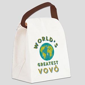 World's Greatest Vovô Canvas Lunch Bag