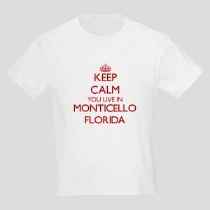 Keep calm you live in Monticello Florida T-Shirt