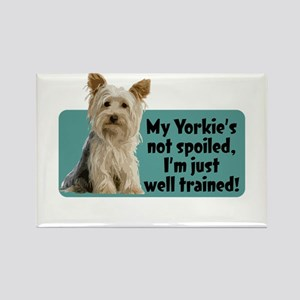 Yorkie Spoiled_T Magnets