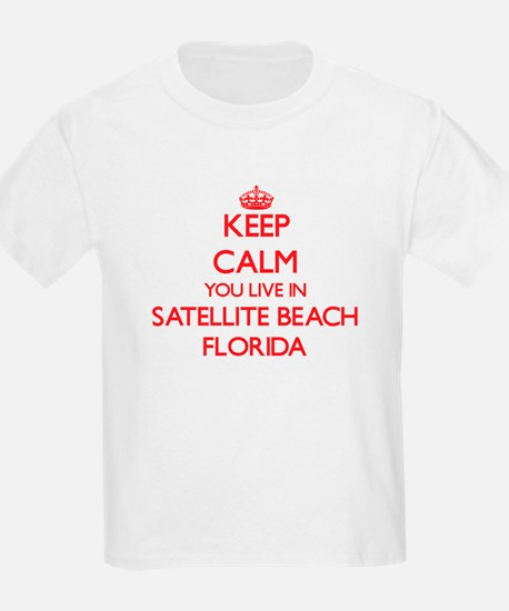 Keep calm you live in Satellite Beach Flor T-Shirt