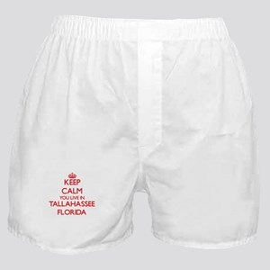 Keep calm you live in Tallahassee Flo Boxer Shorts