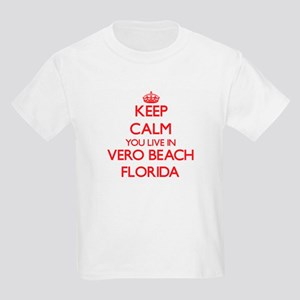 Keep calm you live in Vero Beach Florida T-Shirt