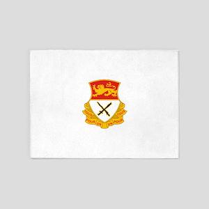 15th Cav Regiment 5'x7'Area Rug