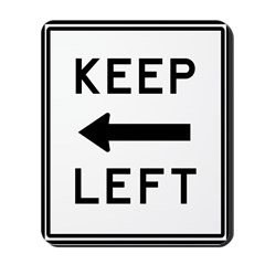 Keep Left Mousepad