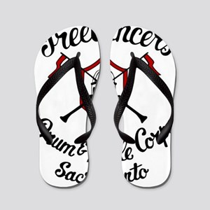 97068c418db3 Drum And Bugle Corps Flip Flops - CafePress