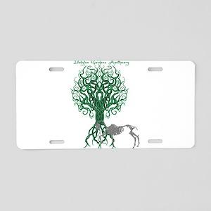Green Celtic Tree of Life Aluminum License Plate