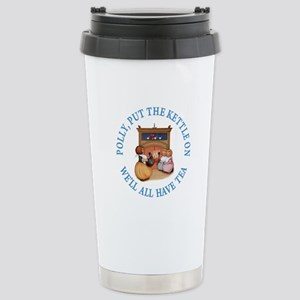POLLY PUT THE KETTLE ON Stainless Steel Travel Mug
