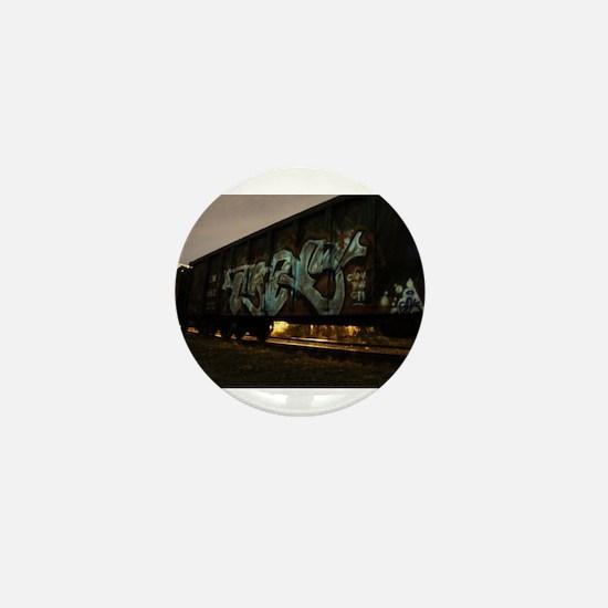Vandal boxcar Mini Button