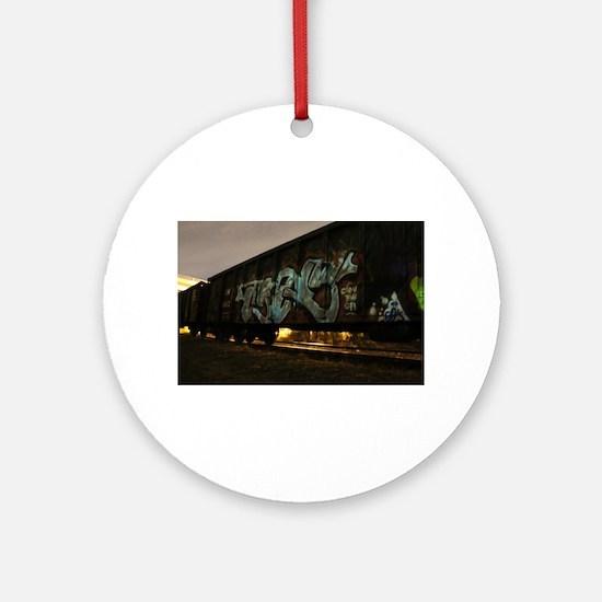 Vandal boxcar Ornament (Round)