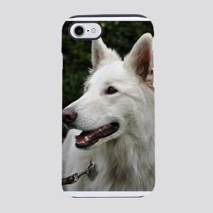 white-shepherd-dog iPhone 7 Tough Case