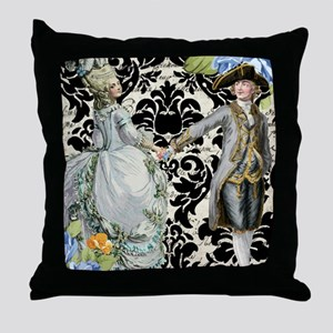 His and Hers Throw Pillow