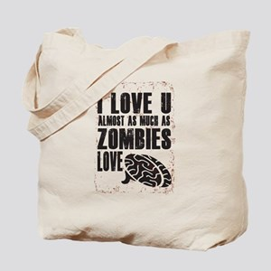 Zombie Love Tote Bag