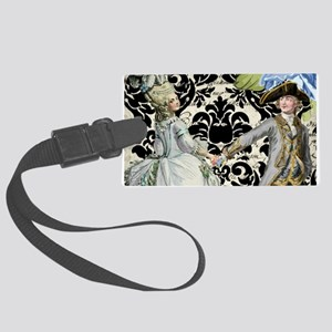 His and Hers Large Luggage Tag