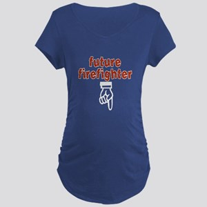 Future firefighter - Maternity Dark T-Shirt
