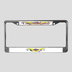 Virgin Islands Blank Flag License Plate Frame
