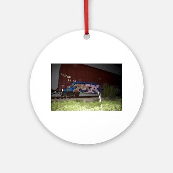 Boxcar vandal Ornament (Round)