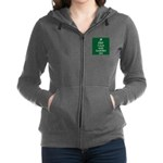 Keep Calm and Garden On Women's Zip Hoodie