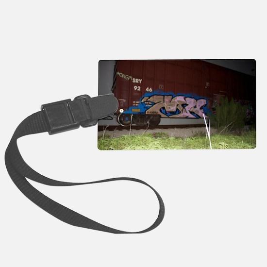 Boxcar vandal Luggage Tag
