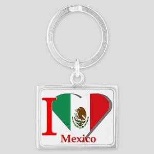 I love Mexico Landscape Keychain
