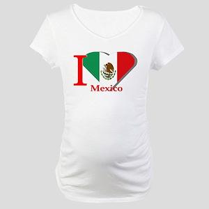 I love Mexico Maternity T-Shirt