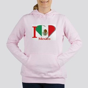 I love Mexico Women's Hooded Sweatshirt