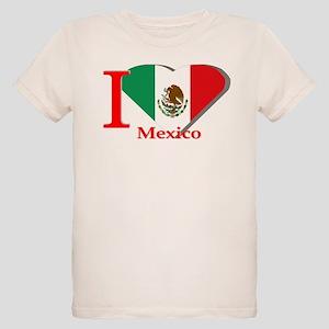 I love Mexico Organic Kids T-Shirt