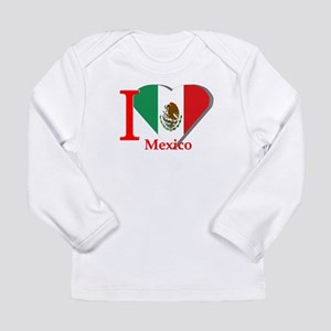 I love Mexico Long Sleeve Infant T-Shirt