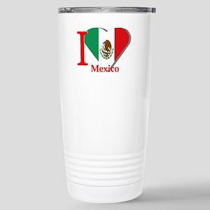 I love Mexico Stainless Steel Travel Mug