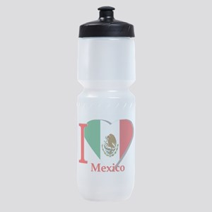 I love Mexico Sports Bottle