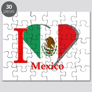 I love Mexico Puzzle