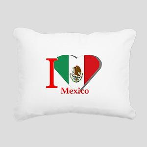 I love Mexico Rectangular Canvas Pillow