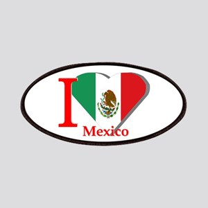 I love Mexico Patches
