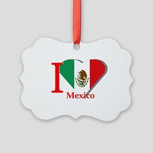 I love Mexico Picture Ornament