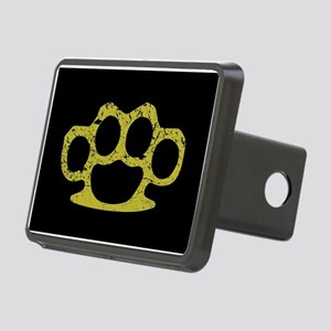 Brass Knuckles Rectangular Hitch Cover