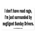 Sunday Drivers worse than Postcards (Package of 8)