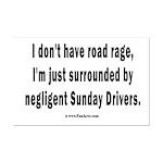 Sunday Drivers worse than Road R Mini Poster Print