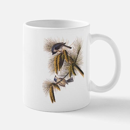 Audubon Crested Titmouse Mugs