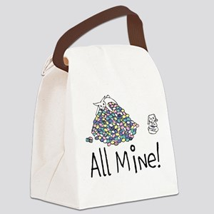 All Mine! Canvas Lunch Bag