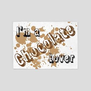 Chocolate Lover 5'x7'area Rug