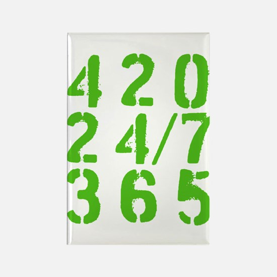 420 24/7 365 Magnets