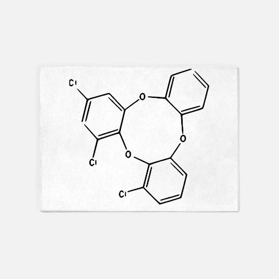 Trioxin 5'x7'Area Rug