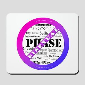 Bisexual Pride - Anti-Biphobia Mousepad