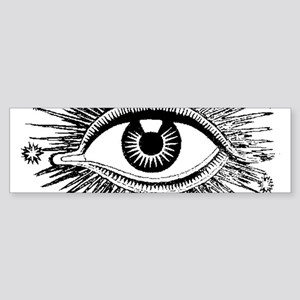 Eye Eyeball Bumper Sticker